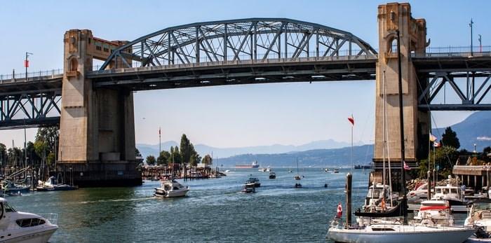 Burrard Bridge/Shutterstock