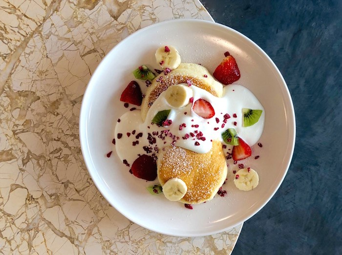 Mixed Fruit Soufflé Pancakes. Photo by Lindsay William-Ross/Vancouver Is Awesome