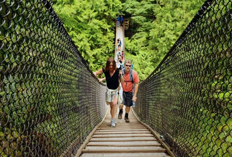Lynn Canyon suspension bridge. File photo by Cindy Goodman/North Shore News