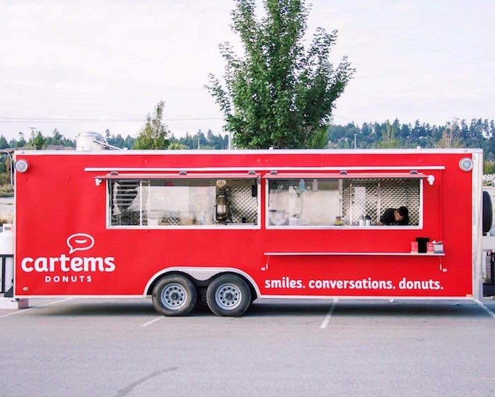 Cartems debuted their brand new food truck over the Labour Day long weekend, serving up fresh-made doughnuts at Tsawwassen Mills.