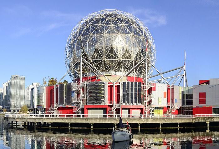 Science World. Photo Shutterstock