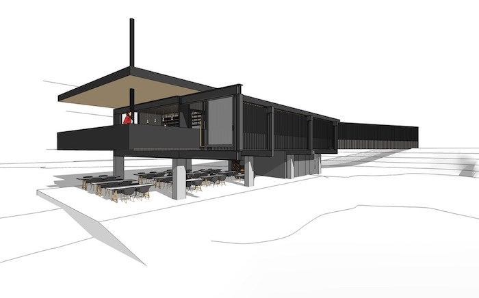Rendering of the final look of the new Fergie's. Image courtesy Fergie's Cafe