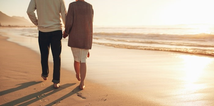Retired couples can't walk out of the work force and into the sunset so easily in B.C. these days. Photo via Shutterstock