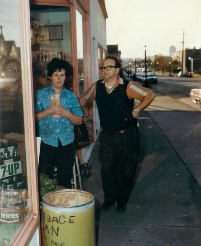 Irma and Ramon Senior Benedetti took over the family business in 1970. Ramon died this April, as the family prepared for the store's 100th birthday. Photo supplied