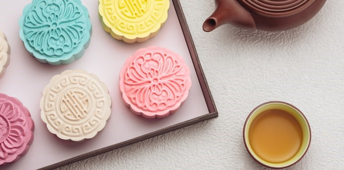 Mid-Autumn Festival is also known as the mooncake-eating festival. Shutterstock