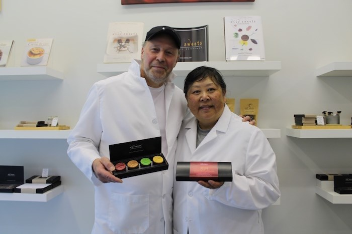 Dominique and Cindy Duby are excited to share their limited-edition chocolate