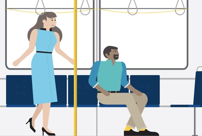 As TransLink moves to buy 200 new SkyTrain cars for the Millennium and Expo lines results of a recent public survey are calling for a re-modelled interior. Photograph By TransLink