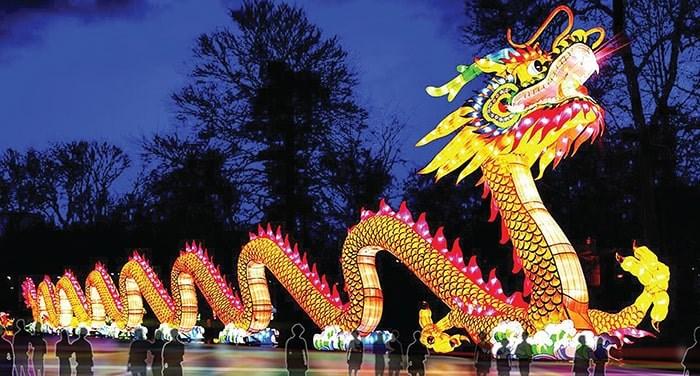 Zigong Lantern Exhibition. Photo: BC Culture Days