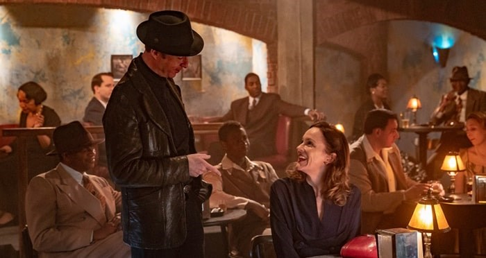Peter Benson and Rachael Stirling star as Archie and Millie in the Bletchley Circle: San Francisco, which recently hit Netflix. This shot was filmed in a Maple Ridge studio, but the series also features outdoor scenes from New Westminster. Photo: Contributed.