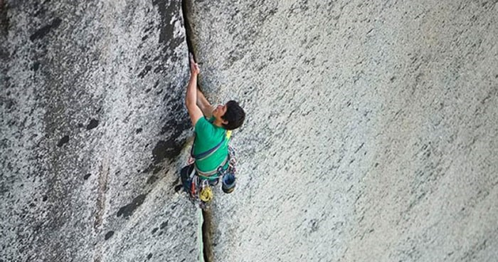 At 33 years old, Anderson died on Aug. 4 after falling while climbing the Stawamus Chief. Photo: Thomas Burden