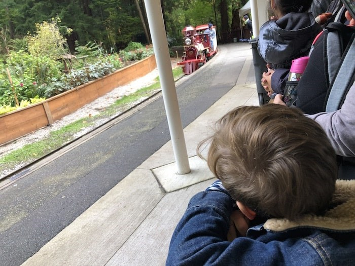 Waiting to board the Stanley Park Miniature Train. Photo by Lindsay William-Ross/Vancouver Is Awesome