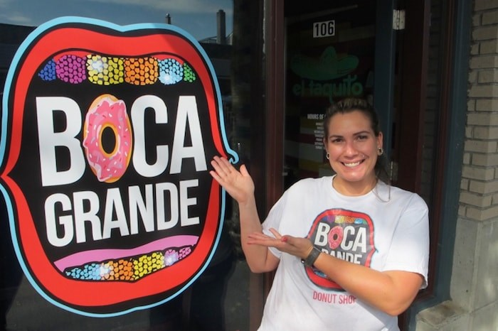 Crystal Avila Toigo opened the doors to her storefront location of Boca Grande to huge fanfare on Wednesday morning. Photo by Ian Jacques/Delta Optimist