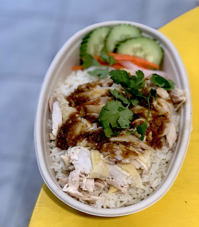 Hainan chicken and rice at Freebird. Photo by Lindsay William-Ross/Vancouver Is Awesome