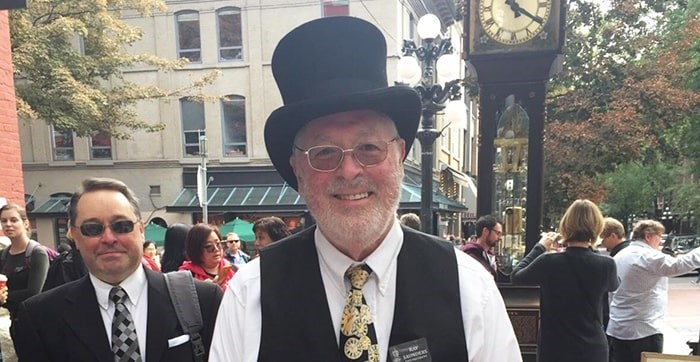 Canadian clock master Ray Saunders. Photo: Supplied