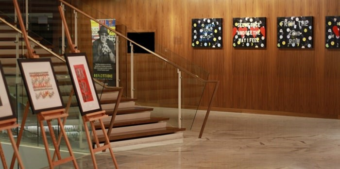 Reflections: The Art of Bernie Taupin is on display at the Fairmont Pacific Rim until Oct. 6. Photo Fairmont Pacific Rim
