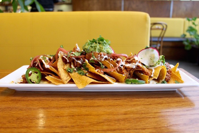 Pulled pork tostadas. Photo by Lindsay William-Ross/Vancouver Is Awesome