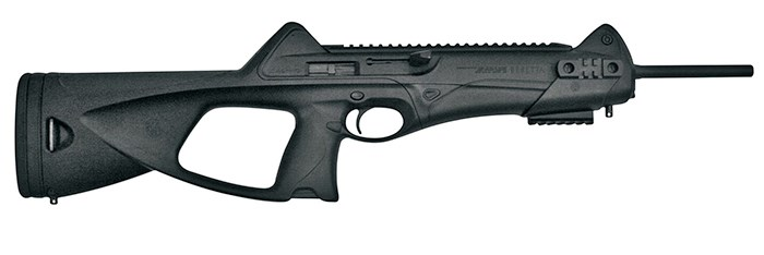 The Beretta CX4 Storm is currently available for sale in Canada, at the mall. Photo Bass Pro Shops