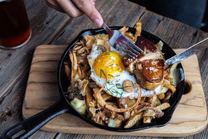 Famous Duck Poutine at Edible Canada. Photo courtesy Poutine With Purpose