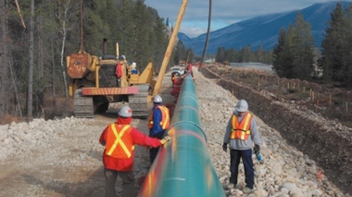 Bill-12 would give the Alberta government the power to control exports of oil and gas. Photo: Trans Mountain