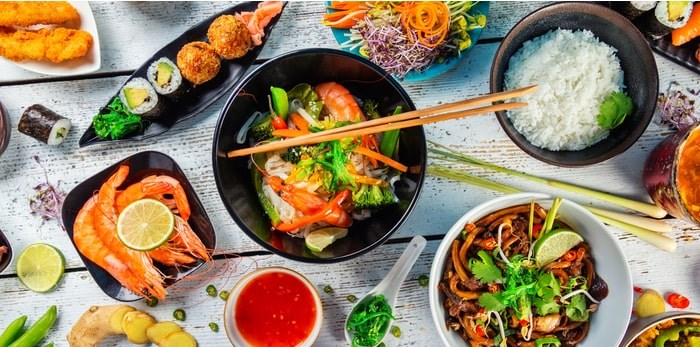 FEAST: Asian Dining Festival is on for a second year from Oct. 18-Nov.18, 2019. Asian food/Shutterstock
