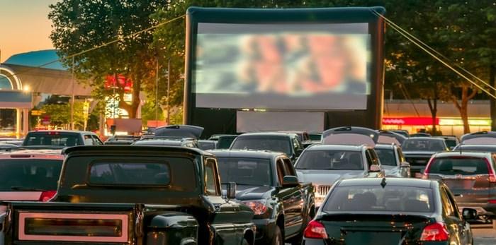 Watching a drive-in movie in B.C./Shutterstock