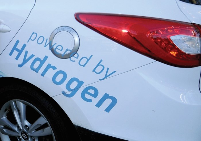 Hydrogen-fuelled vehicle. File photo by Mike Wakefield/North Shore News