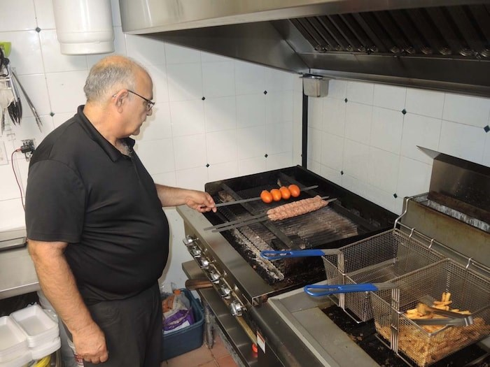 Zia Arfaee is particularly proud of his Persian kabob, which only appears on the menu once every two weeks. Photo by Alan Campbell/Richmond News