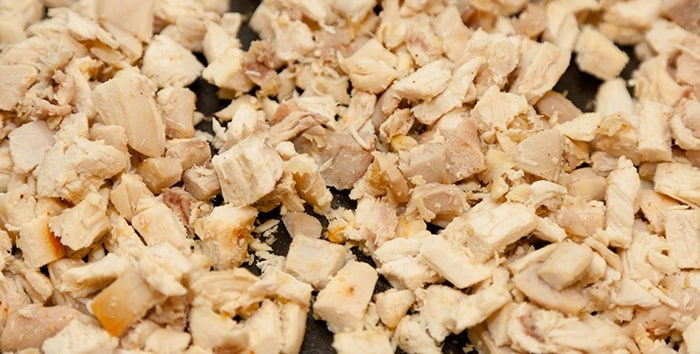 Photo: Diced chicken / Shutterstock