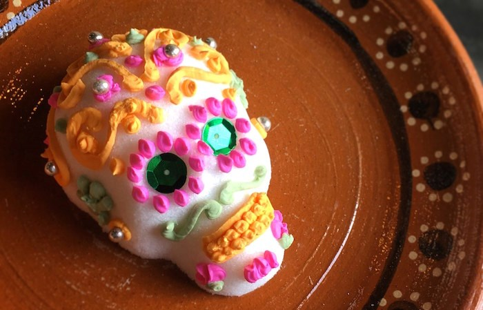 Learn how to decorate a sugar skull.