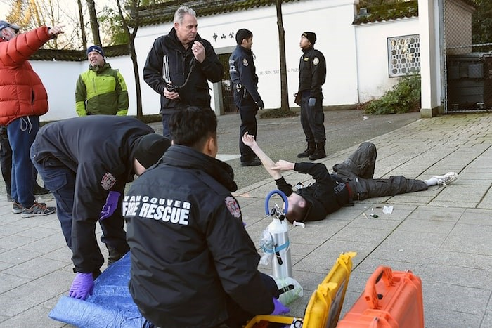 More than 380 people died of a drug overdose last year in Vancouver. Photo Dan Toulgoet