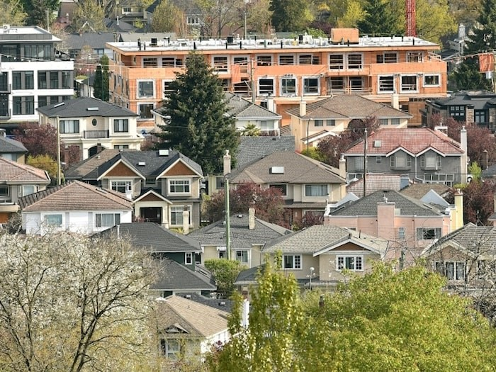 Vancouver's rental vacancy rate is less than one per cent. Photo Dan Toulgoet