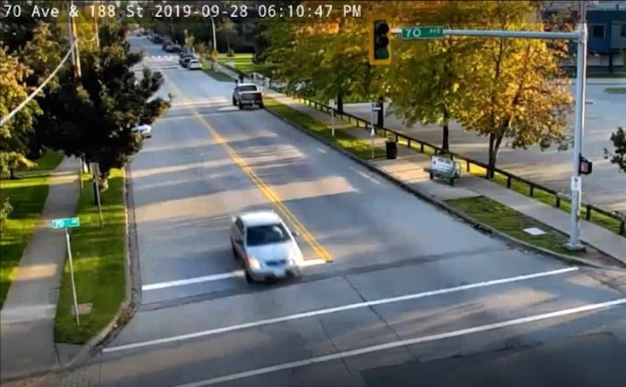 IHIT released a video of this sedan in relation to a deadly shooting in Surrey Saturday. Photo courtesy IHIT