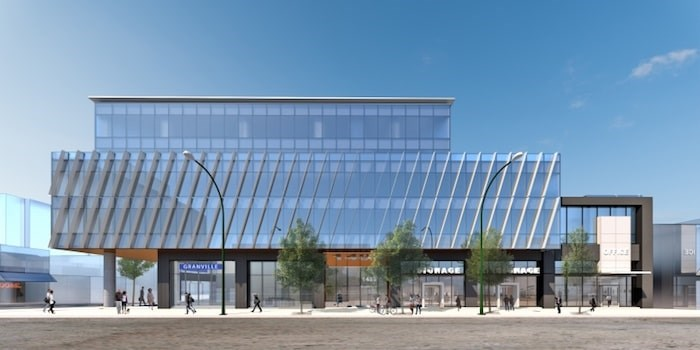 Overall south elevation. Rendering courtesy of PCI Developments
