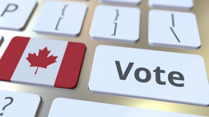 Voting in Canada/Shutterstock