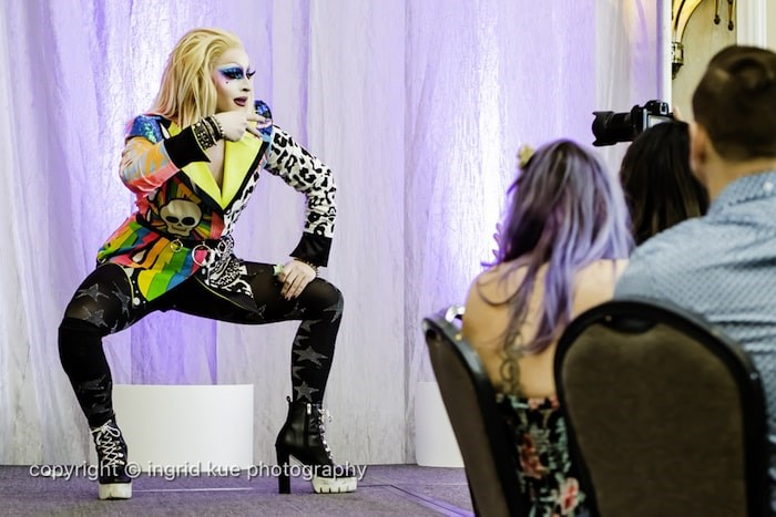 The fabulous Drags Benny drag queen brunch will be in Vancouver on Oct. 20, 2019 at the Fairmont Waterfront. The event is in support of the Vancouver Pride Society. Photo courtesy Eat North