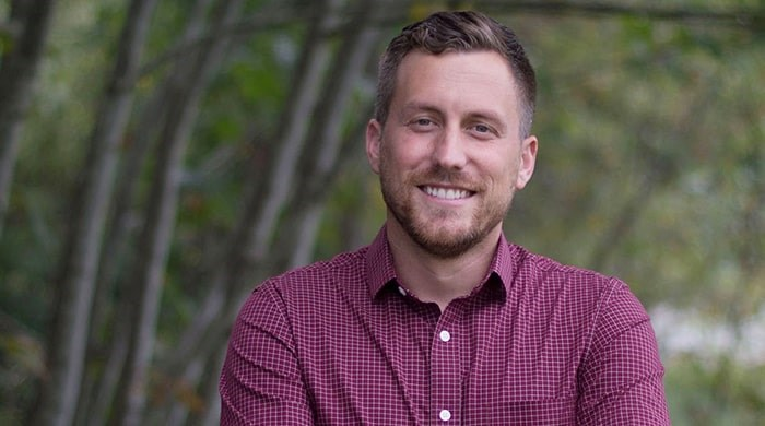 Rookie candidate Kyle Demes has built a lengthy career in research and research administration, specifically in the areas of ecology and marine biology. Photo courtesy of Kyle Demes campaign