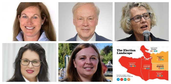 Here's who's running in Vancouver Quadra.