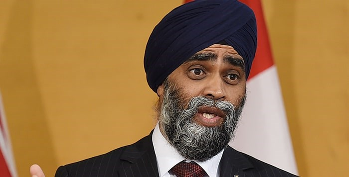 Harjit Sajjan is a former Vancouver police officer and decorated combat veteran. Photo: Dan Toulgoet