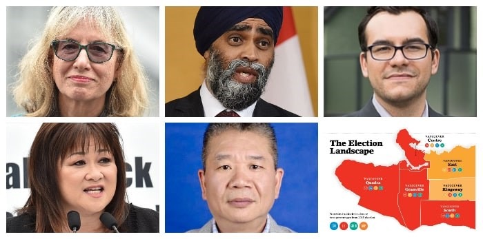 Here's who's running in Vancouver South.