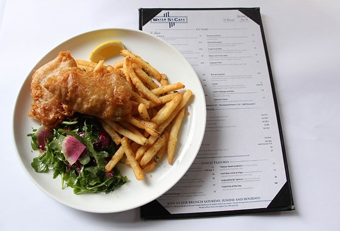 Chef Alan's Fish & Chips, Photo: Water St. Cafe
