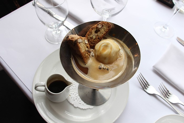 Affogato, Photo: Water St. Cafe