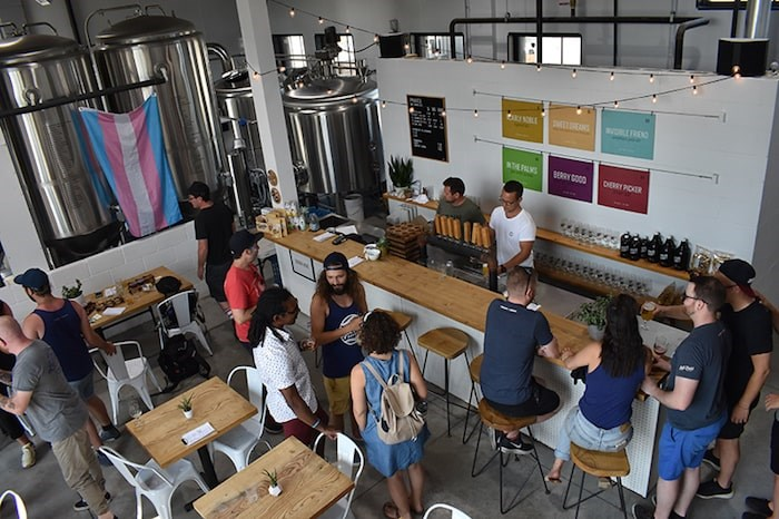 Tropical flavours abound at Grain & Grit Beer Co. Photo by Rob Mangelsdorf