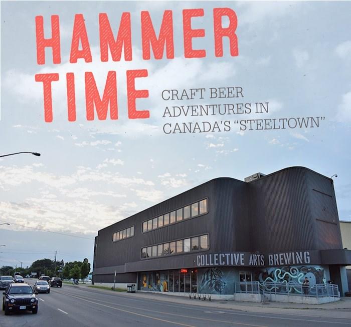 A tour of Hamilton's craft beer scene. Photo by Rob Mangelsdorf
