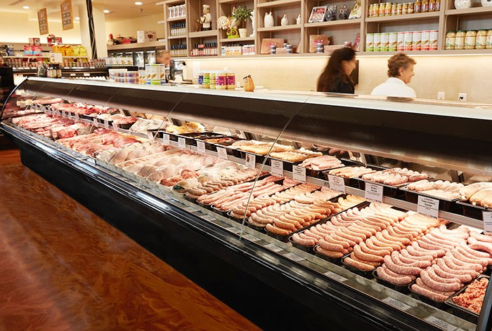 Butcher counter, photo: Bosa Foods