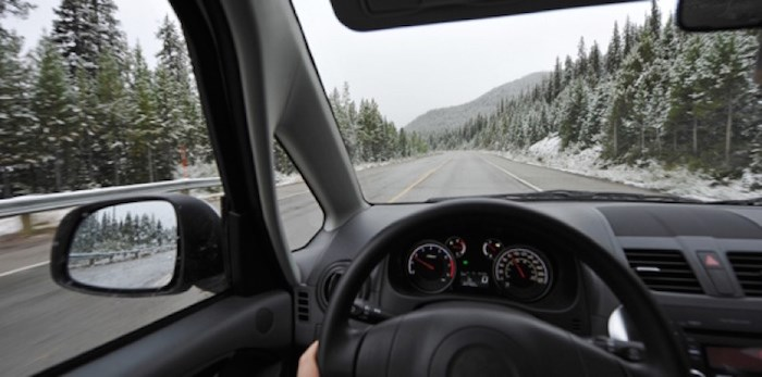 Be cautious driving on B.C.'s highways this long weekend. Photo courtesy ICBC