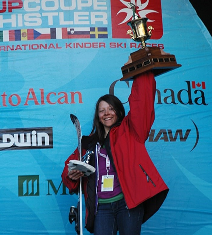 Star skier Mikayla Martin remembered for her love of people and life. Photo: Submitted/courtesy of the Martin family