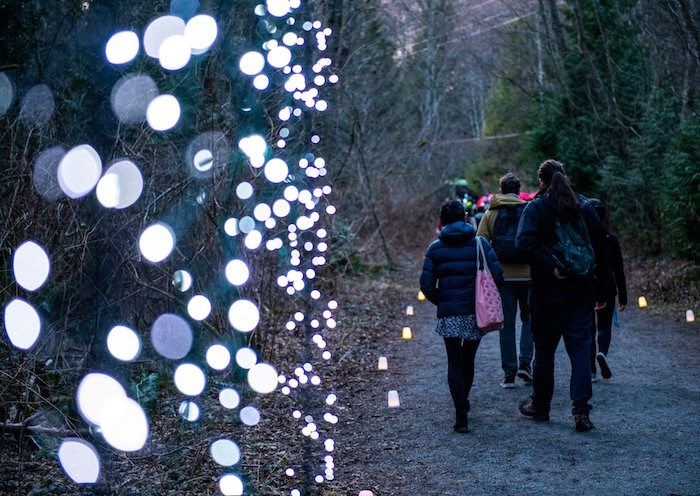 Puzzle out some Flashlight Mysteries to find out what goes bump in the night at this awesome Metro Vancouver park.