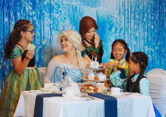 Do you want to build a snowman? There's a Frozen-inspired Royal Tea with Elsa and Anna that will take place in Vancouver. Photo courtesy Hilton Vancouver Metrotown