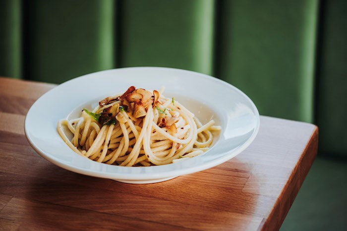 Celebrate International Pasta Day at four restaurants in Vancouver that'll be serving up a great pasta special. Photo courtesy Kitchen Table Restaurants