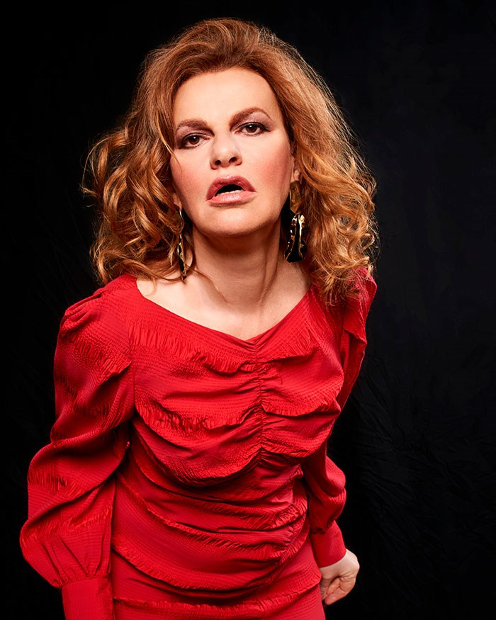 Sandra Bernhard, photo: Chutzpah! Festival